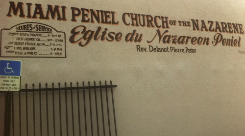Miami Peniel Church of the Nazarene-Eglise du Nazareen Peniel Miami Peniel Church of the Nazarene-Eglise du Nazareen Peniel, Reverend Delanot Pierre, Pastor, (December 11, 1945, Ennery, Haiti — April 20, 2013, Miami, Florida). Rest in Peace.