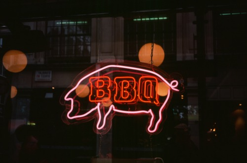 """BBQ"" London, England August 2011 Minolta Hi-Matic G"