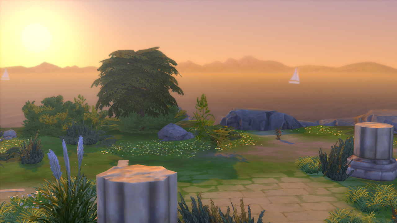 Such a pretty sunset! Gael loved spending the day here #ts4#sims 4 #sims 4 legacy  #sims 4 gameplay  #tag: bonito legacy  #tag: bonito gen 1  #tag: gael bonito