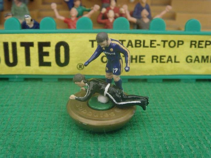 meninblazers:  Subbuteo launches limited edition Hazard figure.  Via GFOP @black_bile