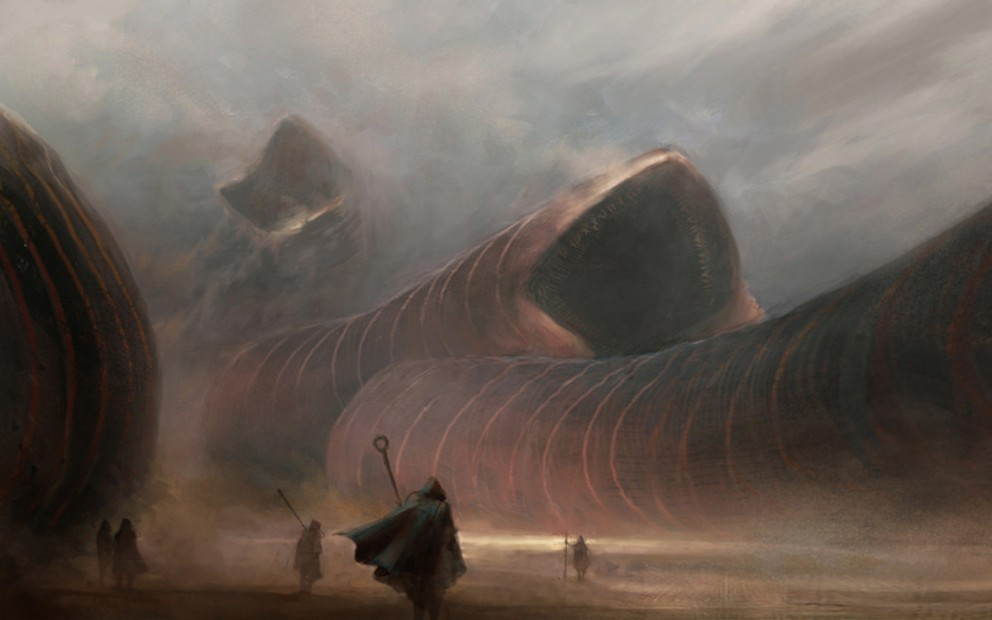 exaggeratedspecificity:  Sandworms by A.J. Trahan