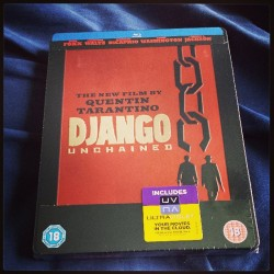 'The D is Silent…' #djangounchained #blu-ray #fuckyeh #steelbook #tarantinofanboy