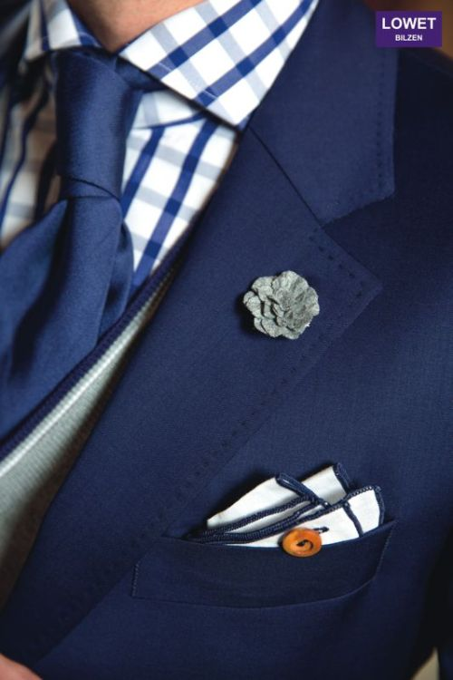 thesnobreport:  Sports coat Scabal, shirt Van Laack, cardigan Fay, tie Fiorio, pocket square Armstrong & Wilson, boutonnière hook + ALBERT - outfit styled by Lowet Tailors