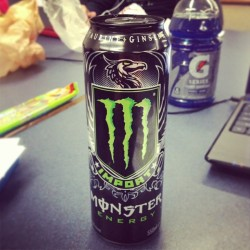 All nighter!! #finals #college #allnighter #monster