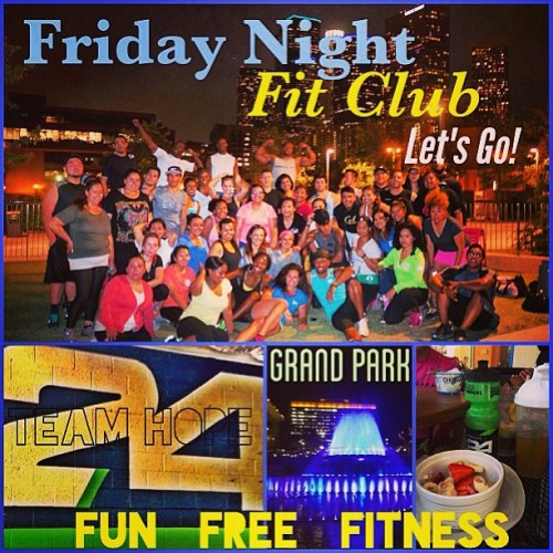 This is what's going down tonight!!! Come through for Fun Free Fitness! For more information email me at christianalquiza@yahoo.com