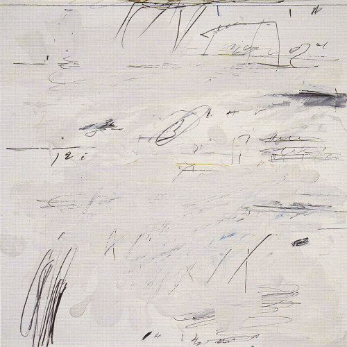 drencrome:  nearlya:  Cy Twombly. Poems to the Sea, Rome 1959. Sheet 16 of 24. Oil, crayon, pastel and coloured pencil on paper  .