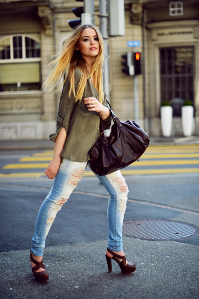 must-have-outfits:  nice heels + jeans what-id-wear:  (original : Kayture )