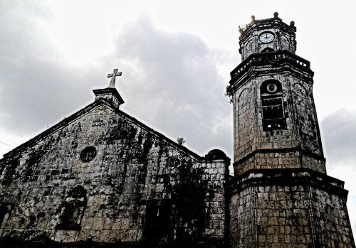 The Cathedral in Maasin, Southern Leyte. Going to old churches in every town I visit is one of my favorite things to do. I am not deeply religious (if you base it on my Mom's definition of religious) but I do love the serenity and calmness that comes with places like this. And the cobblestone walls and faded paint, adds a certain charm. Don't you think?