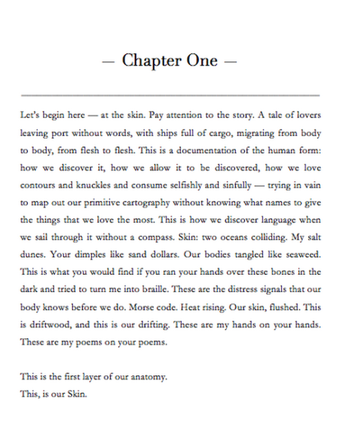 commovente:  Introduction to Chapter One of The Anatomy of Being