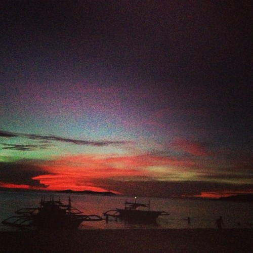 Sunset in Calaguas. 👌