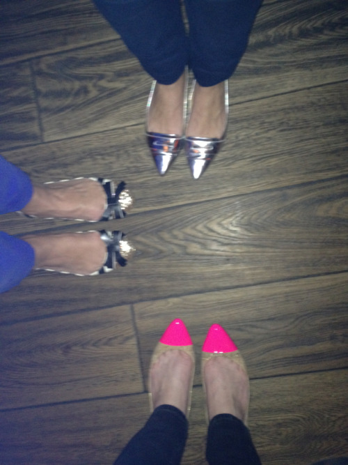 @katespadeny ladies out on the town in boston