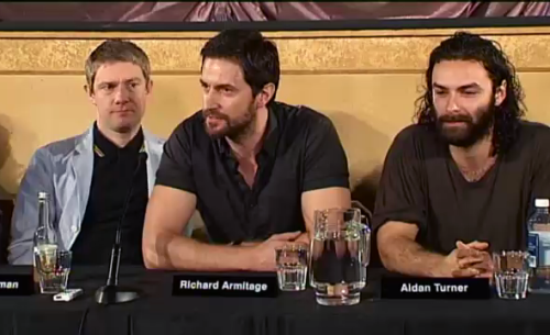 world-of-armitage:  Wellington Press Conference