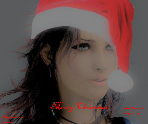 ooc: Merry Christmas babuu, I miss you ;n;  ooc -pets your precious face- Shhhh it's okay ;u; I miss you toooo~ But I've been around ahaha, mostly lurking though. Butbut thank you bby, and Merry Christmas to you too~ <3