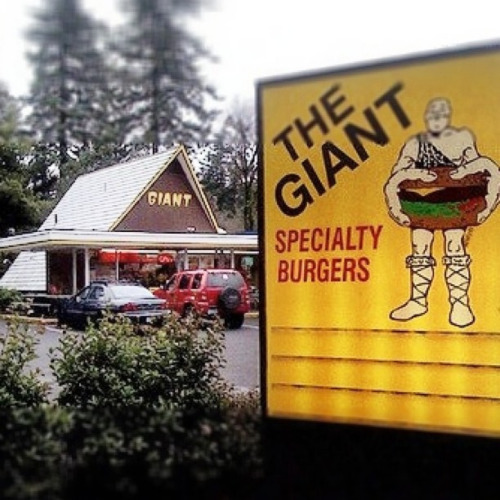 Yes, the burgers are giant. Great… by Schlockstar! on Flickr.