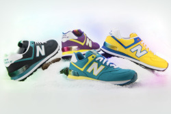 "ykpop:  New Balance 574 ""Alpine"" Hearted from: http://thedropnyc.tv/2013/05/15/new-balance-574-alpine-pack-preview/"