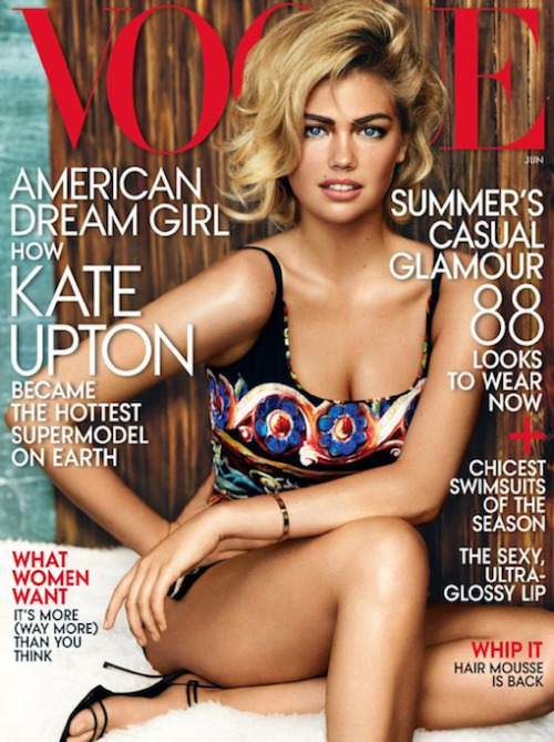 American Woman: Kate Upton for Vogue #MagazineMonday