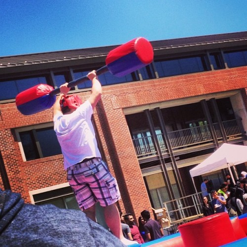 Victorious!!!!! #mayfest #nyit #carnival  (at NYIT - Old Westbury Campus)
