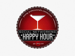 YPC Happy Hour Event Badge | Freelance (2012)