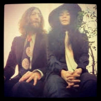 His fly matches her fly: John Lennon and Yoko Ono