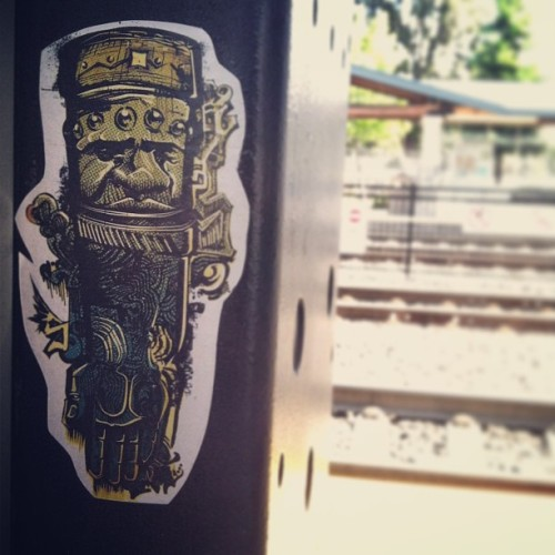 #slaps #stickers #lawrencecaltrain #caltrainstation #commuter #commute #sanjosetosanfrancisco #sjtosf #traintrackgraffiti #traintracks #instaslap #instasticker #slapcity #peelandbomb #instagraphite #siliconvalleyslaps #santaclaraslaps #southbayslaps #atb #tmc #rha #orible #empire #righthandofpower #amorle #design #tumblrpost (at Caltrain #427 SJ to SF)