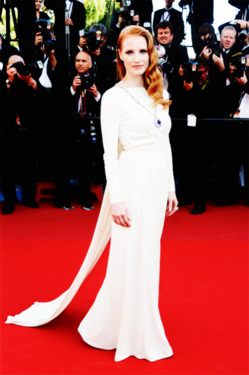 Jessica Chastain at 2013 Cannes Film Festival