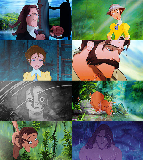 tarzan screencaps + looking down