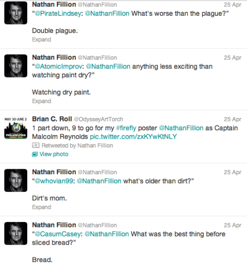 windmills-of-my-mind:  Nathan Fillion everybody