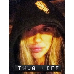 I didn't choose the thug life. The thug life chose me. I don't know why it feels so good to be #gangsta it just does #thugforlife (at Sonic Drive-In)