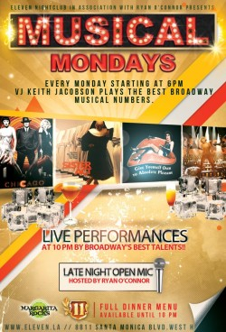 flyer-design-musical-mondays-los-angeles-karaoke