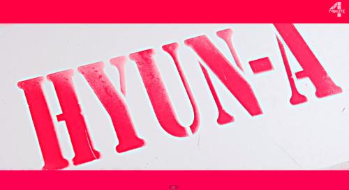 4Minute: Hyuna - RED MV (Screencaps) (1)