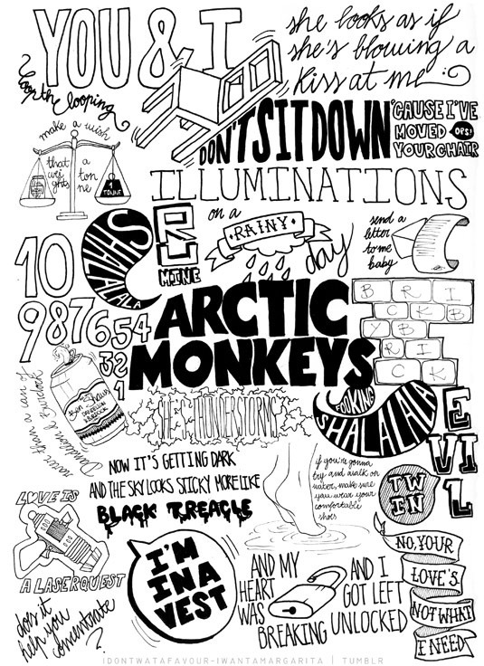 sanflavia:  arctic monkeys hey,hoy bom dimais  pretty much sums up the universe