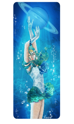 girlsbydaylight:  Sailor Neptune by ~pirastro