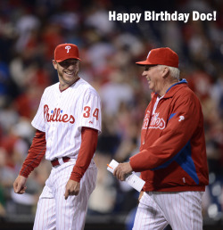 LIKE to wish Roy Halladay a very happy birthday!