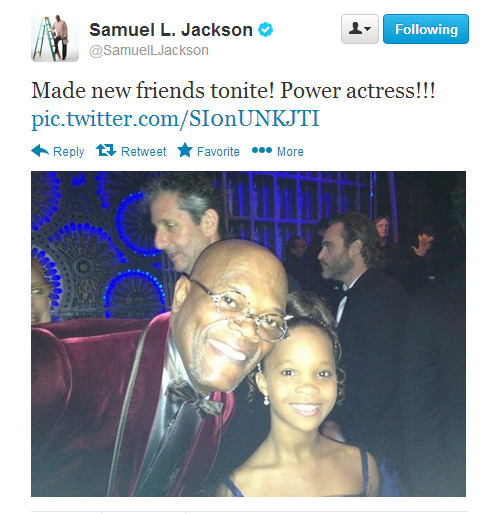 once again if you don't follow Sam Jackson on twitter you are missing out