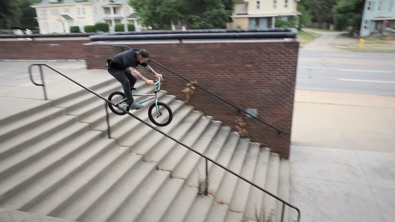 Cory Wiergowski puts it down for The Hunt BMX movie!