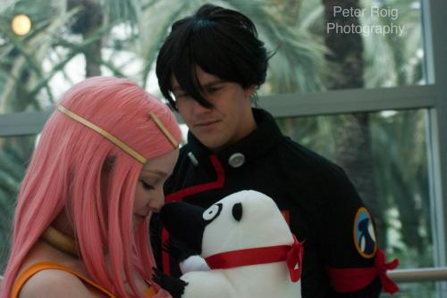 Myself as Anemone and my boyfriend as Dominic Photo by Peter Roig Tumblr/Facebook