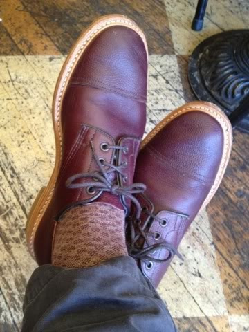 WAYW: Trickers Captoe Zug Grain