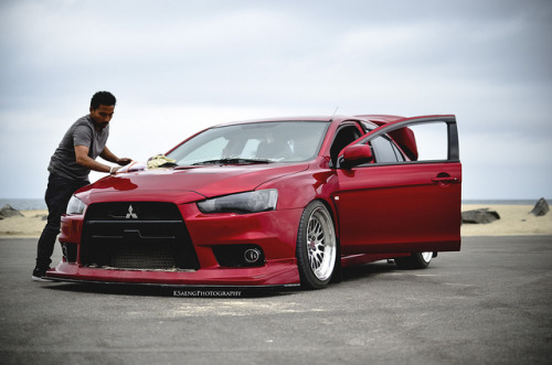 akeikas:  Mark's Evo X - 3 by KSaengphotography on Flickr.