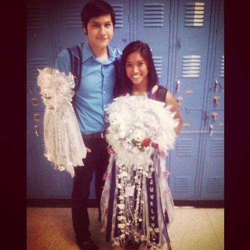 Homecoming with my babyboy. 😘✨🙊🌀💃💘 #LastSeptember #ThrowbackThursday  @christopherofficial