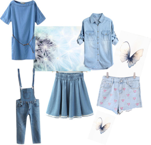 Chicnova denim wishlist by lulu-ka featuring knee length denim skirtsBoat neck dresschicnova.comDenim topchicnova.comKnee length denim skirtchicnova.comHigh-waisted denim shortschicnova.comBlue Skinny Cropped Denim Pants with Detachable Braceschicnova.com