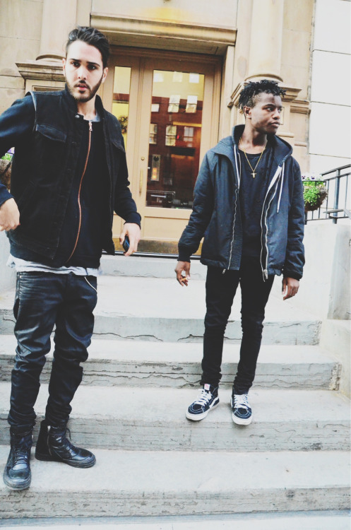 overdoseone:  NYC ~ youth take over. Ian x Robby