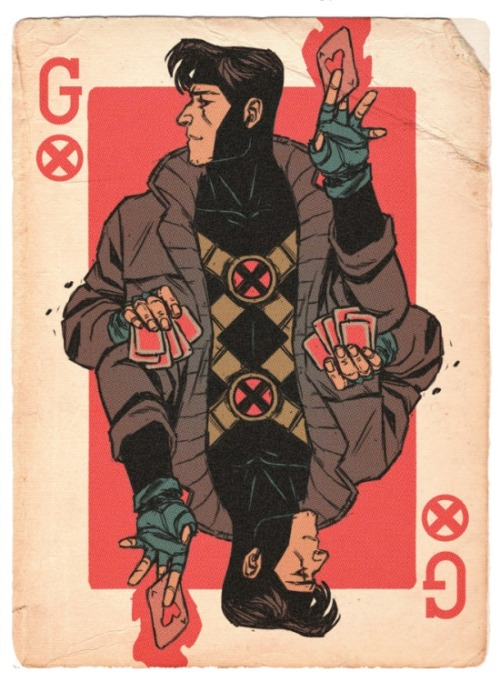 comic-issues:  Gambit, 'nuff said.