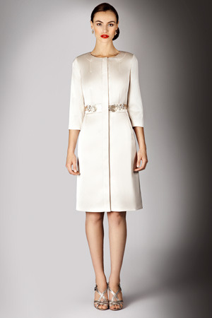 Love this beautiful bridal coat from Coast