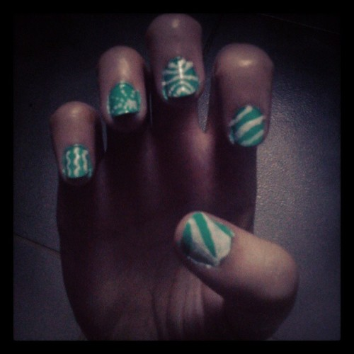 left hand #nails #nailart