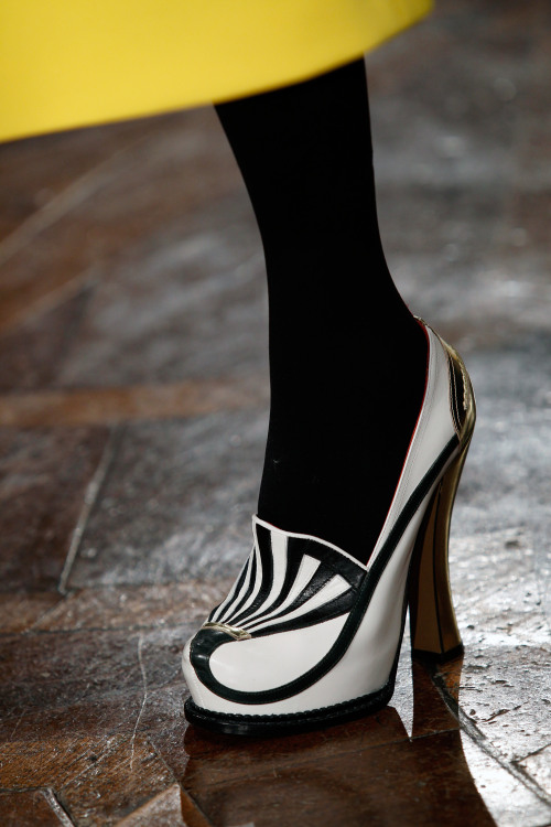 Deliciously quirky footwear at @AntonioMarras! #MFW
