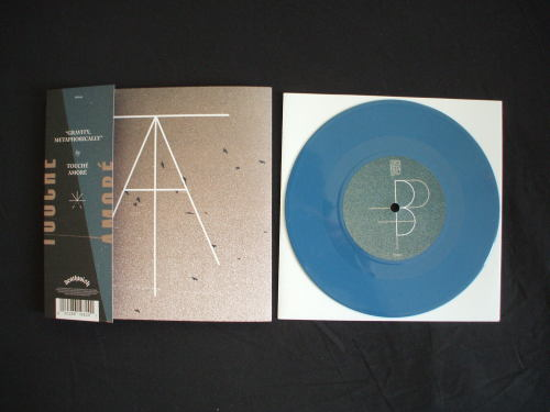 Touché Amoré / Pianos Become The Teeth - Split 7""