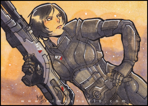 PSC - Commander Shepard from Mass Effect Commission info