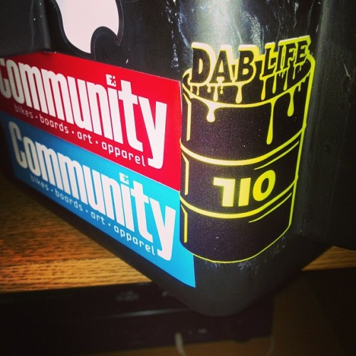 Thanks Dablife Mike! #pelistickers #dablife #dabio