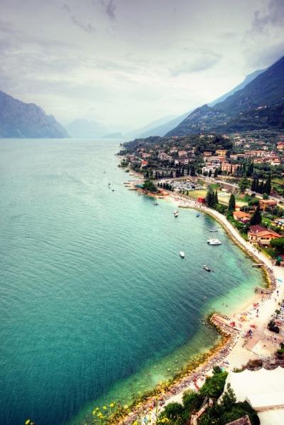 Lake Garda, Italy  | by © FedeSK8 | via fromeuropewithlove