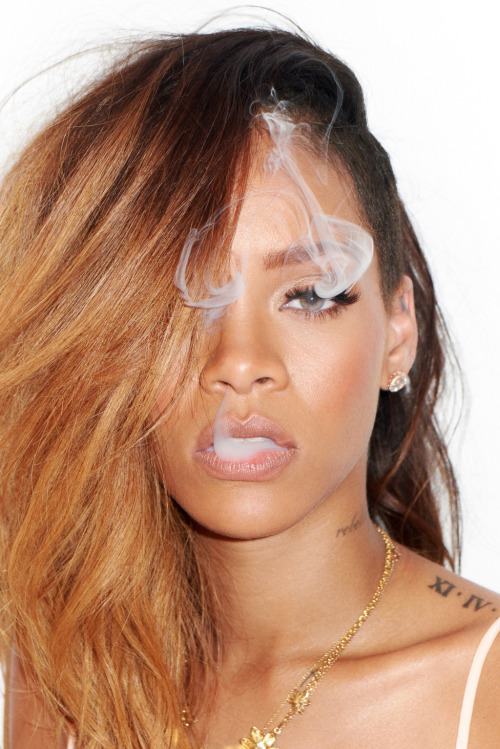 Rihanna at my studio #8